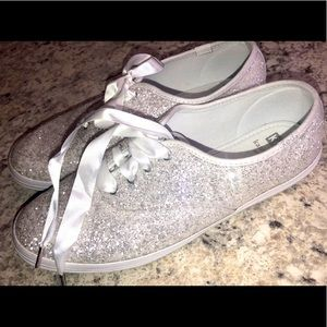 Kate Spade Champion Glitter Keds